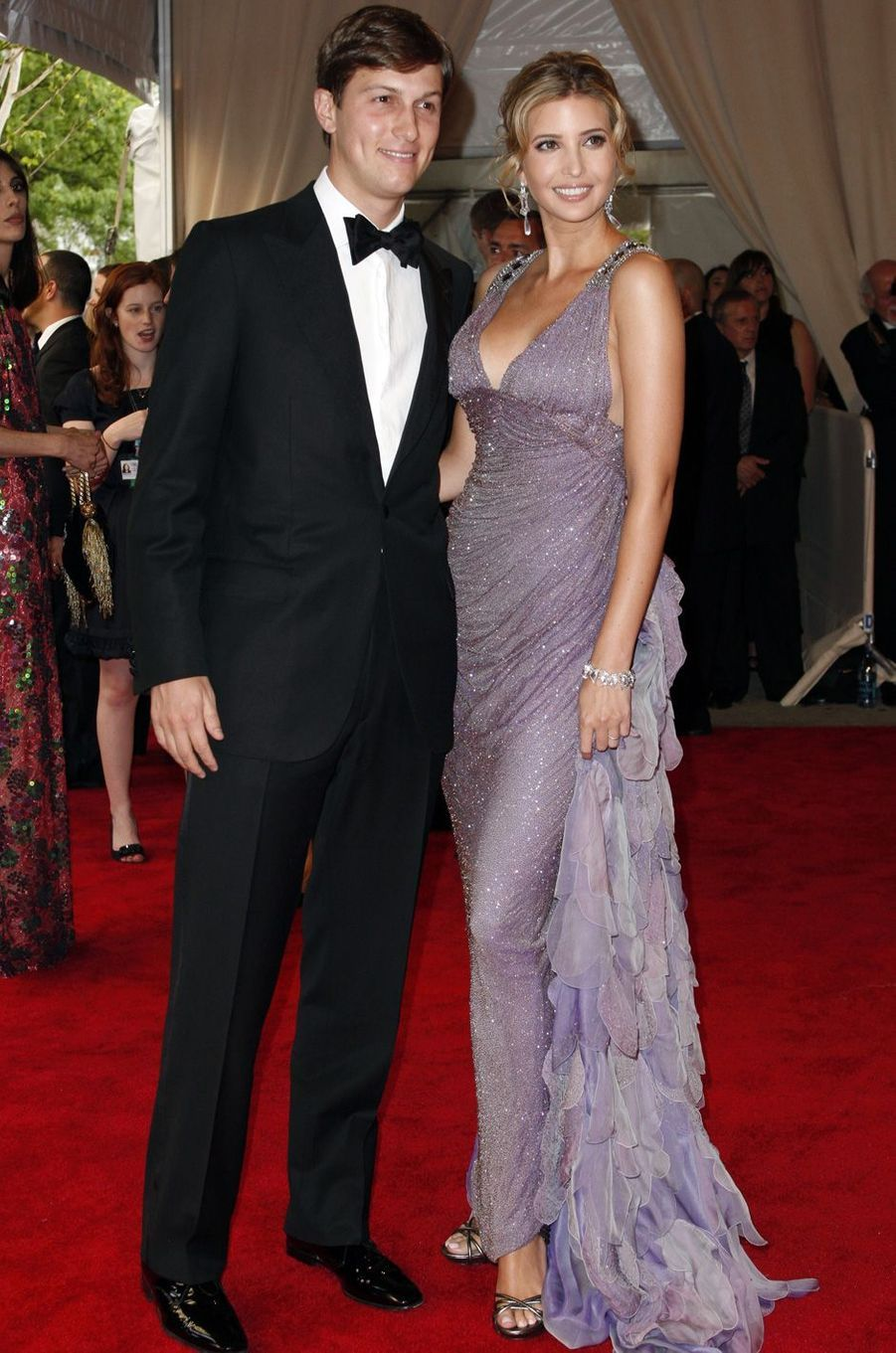 Jared Kushner et Ivanka Trump, en mai 2010.