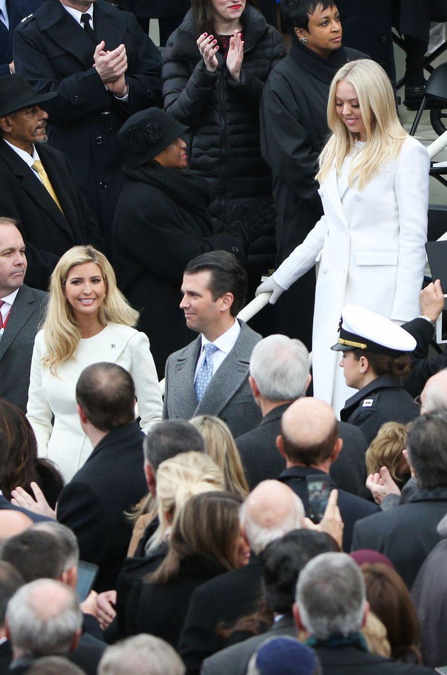 Ivanka Trump à l'investiture de son père Donald Trump, le 20 janvier 2017.