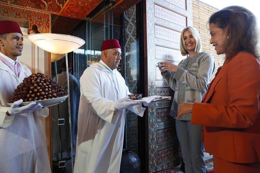 La princesse Lalla Meryem a présidé le dîner en l'honneur d'Ivanka Trump