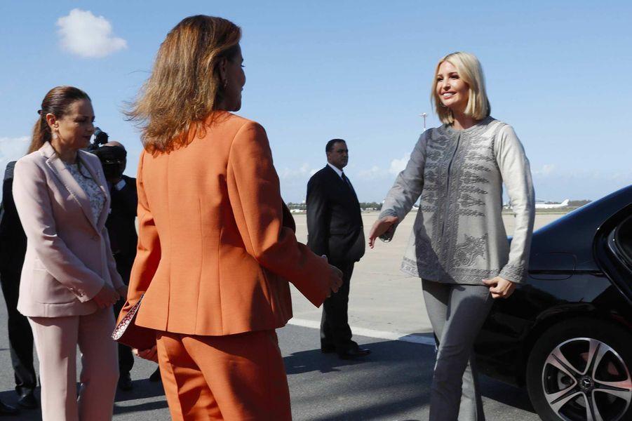 Images. L'arrivée d'Ivanka Trump au Maroc