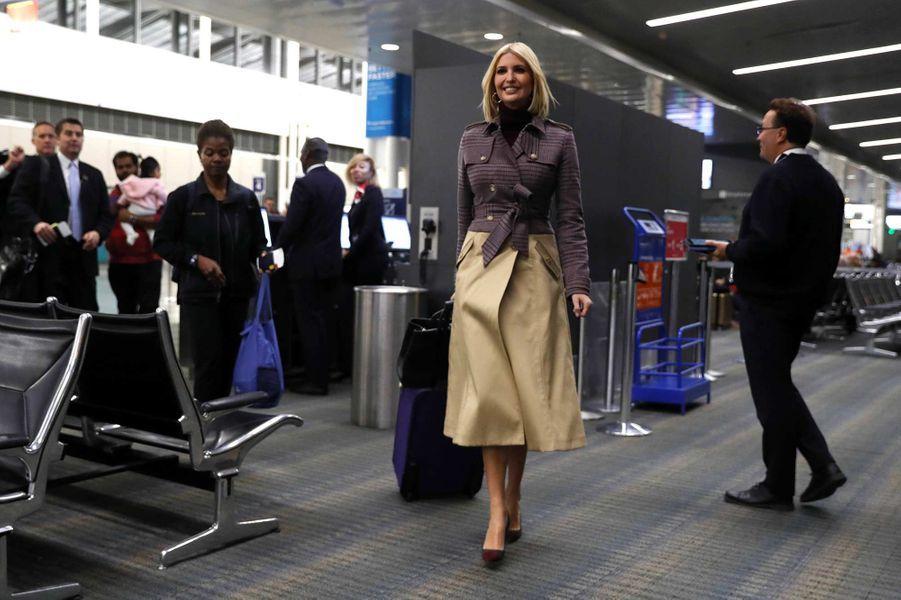 Maroc / USA - Ivanka Trump est arrivée ce mercredi au Maroc