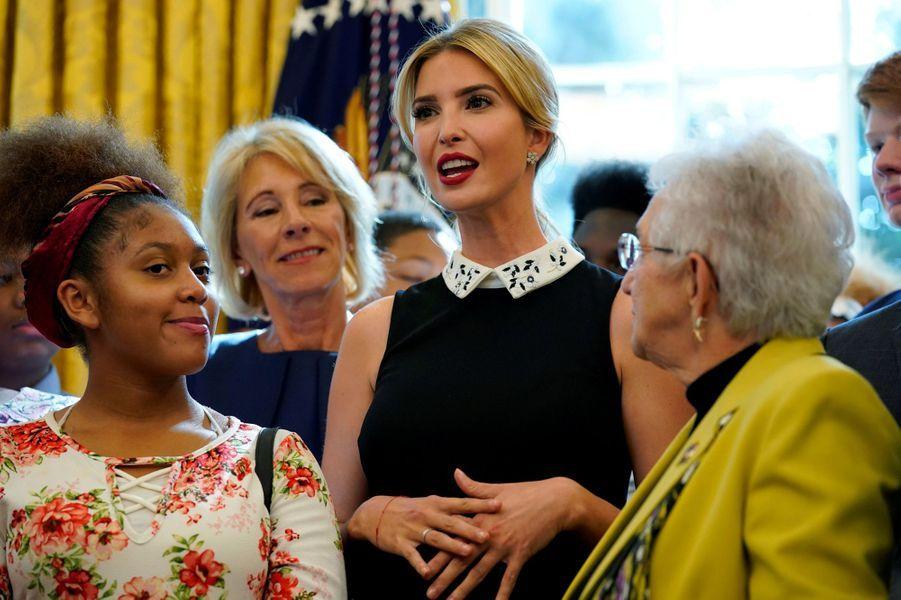 Ivanka Trump à la Maison Blanche, le 25 septembre 2017.