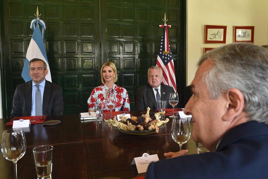 Ivanka Trump dans la province de Jujuy, en Argentine, le 5 septembre 2019.