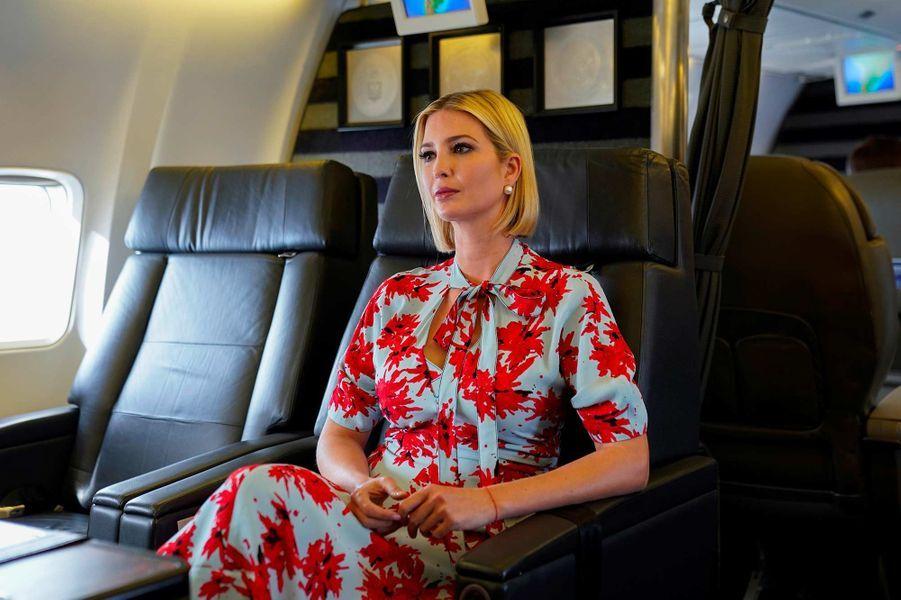 Ivanka Trump quittant la province de Jujuy, en Argentine, le 5 septembre 2019.