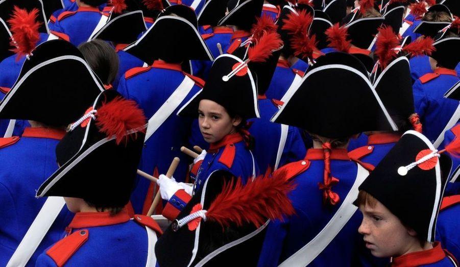 Le festival de Tamborrada, qui célèbre la fin de l'occupation napoléonienne bat son plein à Saint-Sébastien.