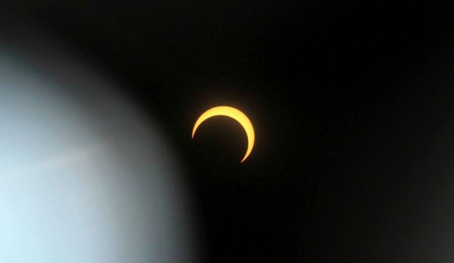 L'éclipse solaire annuelle vue de la ville de Nakuru au Kenya. Une éclipse qui a pu également être admirée au Chad, République Démocratique du Congo, République Centre Africaine, Uganda et en Somalie.