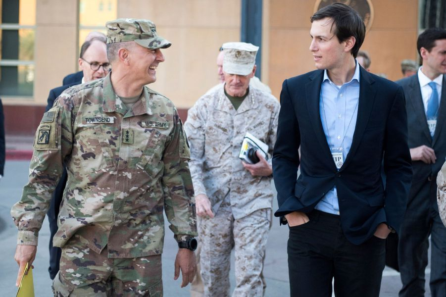 Jared Kushner en Irak, le 3 avril 2017.