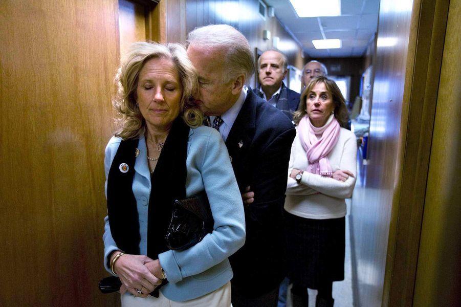 Jill et Joe Biden, en janvier 2008.
