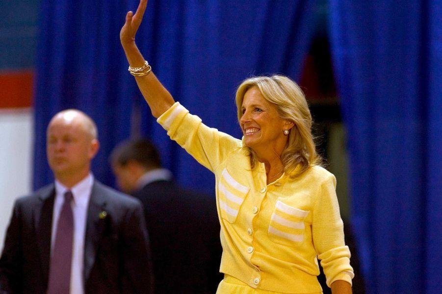 Jill Biden, en septembre 2008.