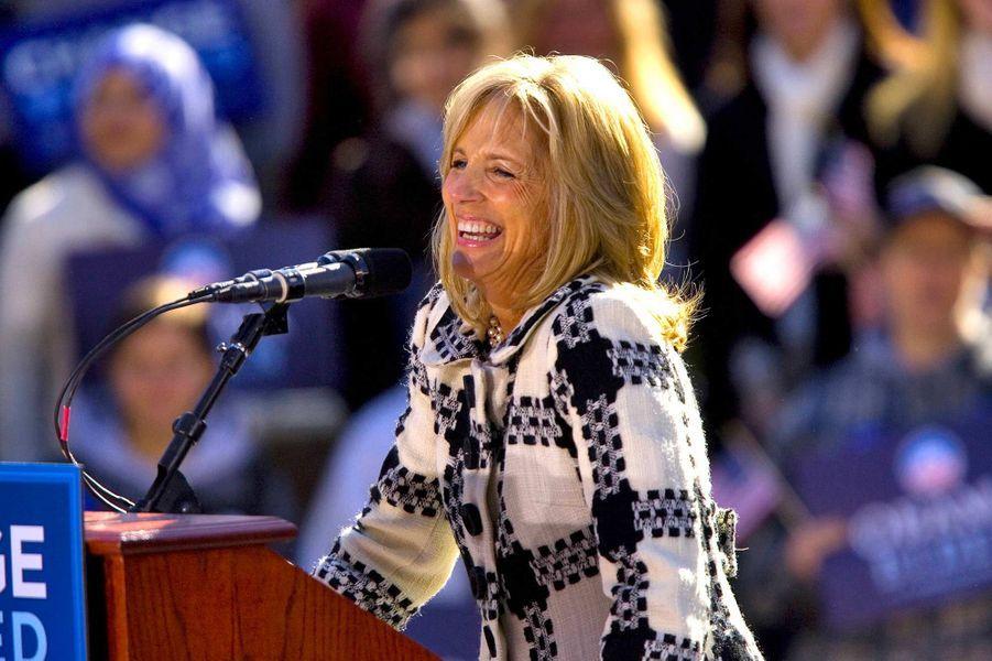 Jill Biden, en octobre 2008.
