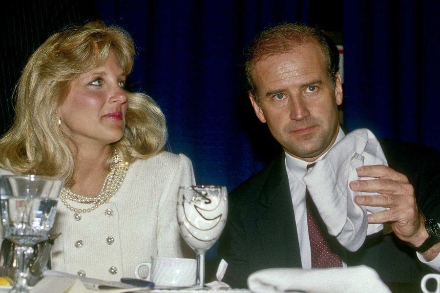 Jill et Joe Bide, en 1987.
