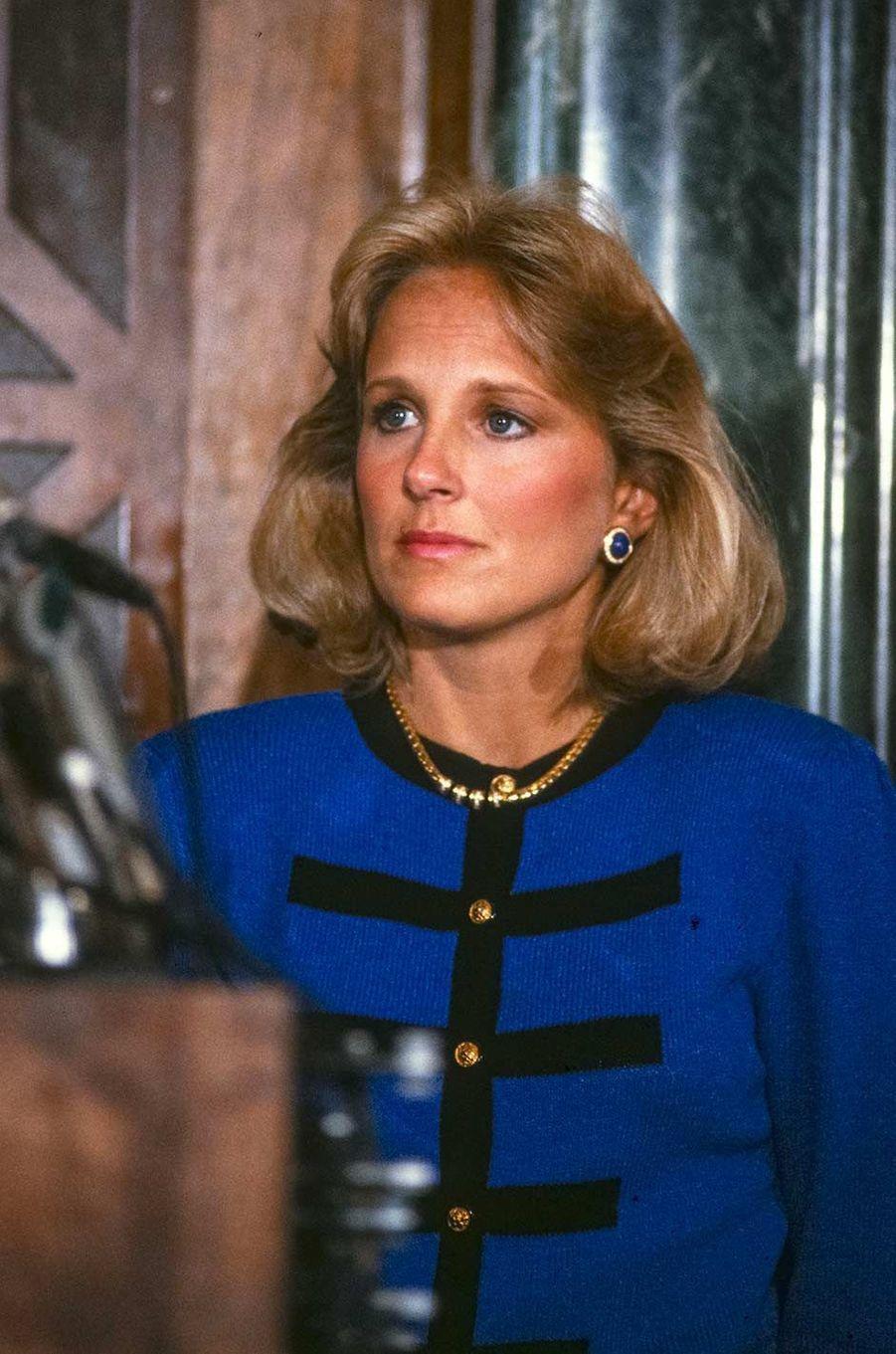 Jill Biden, en 1988.