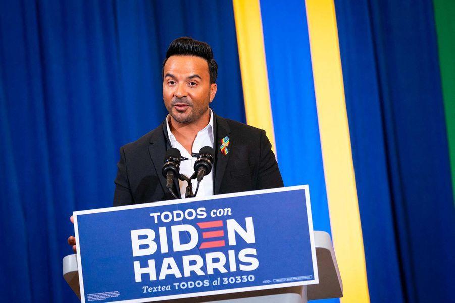 Luis Fonsi àKissimmee, en Floride, le 15 septembre 2020.