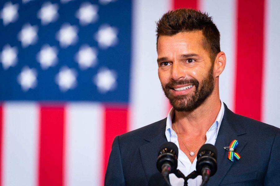 Ricky Martin àKissimmee, en Floride, le 15 septembre 2020.