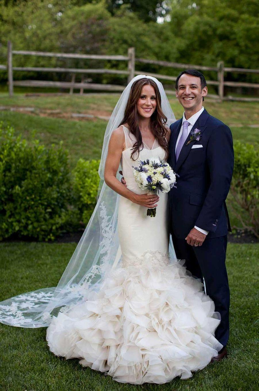 Ashley Biden et son mariHoward Krein le jour de leur mariage, en juin 2012.