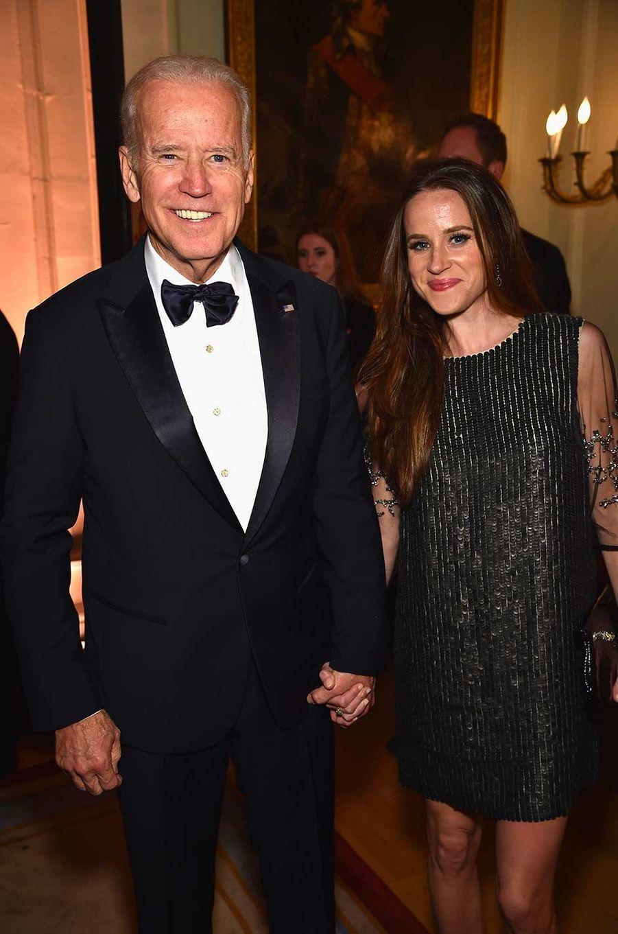 Joe et Ashley Biden, en avril 2016.