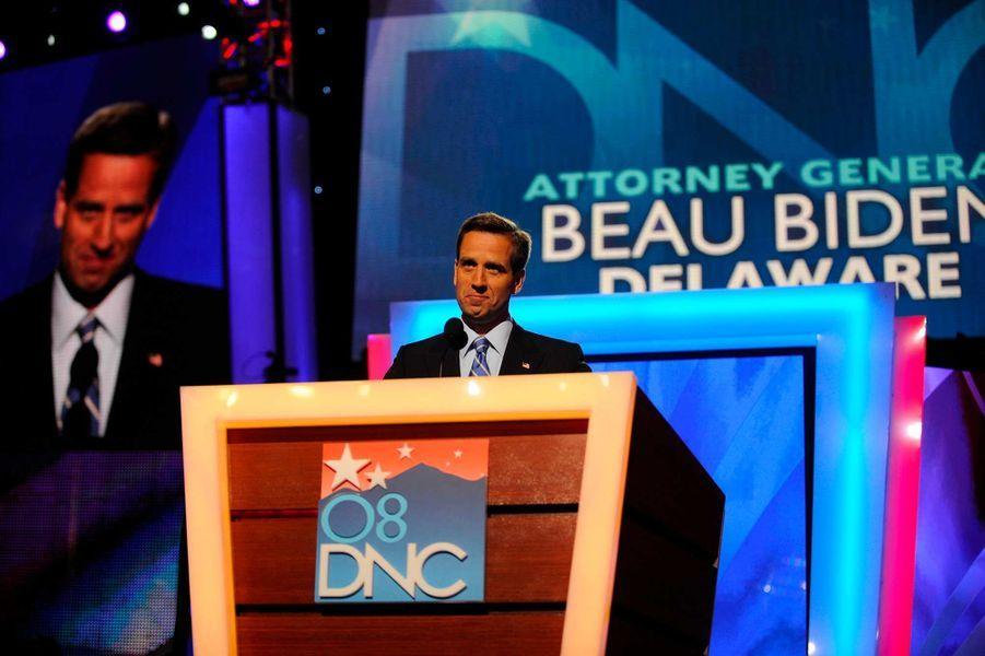 Beau Biden lors de la convention démocrate, en août 2008.