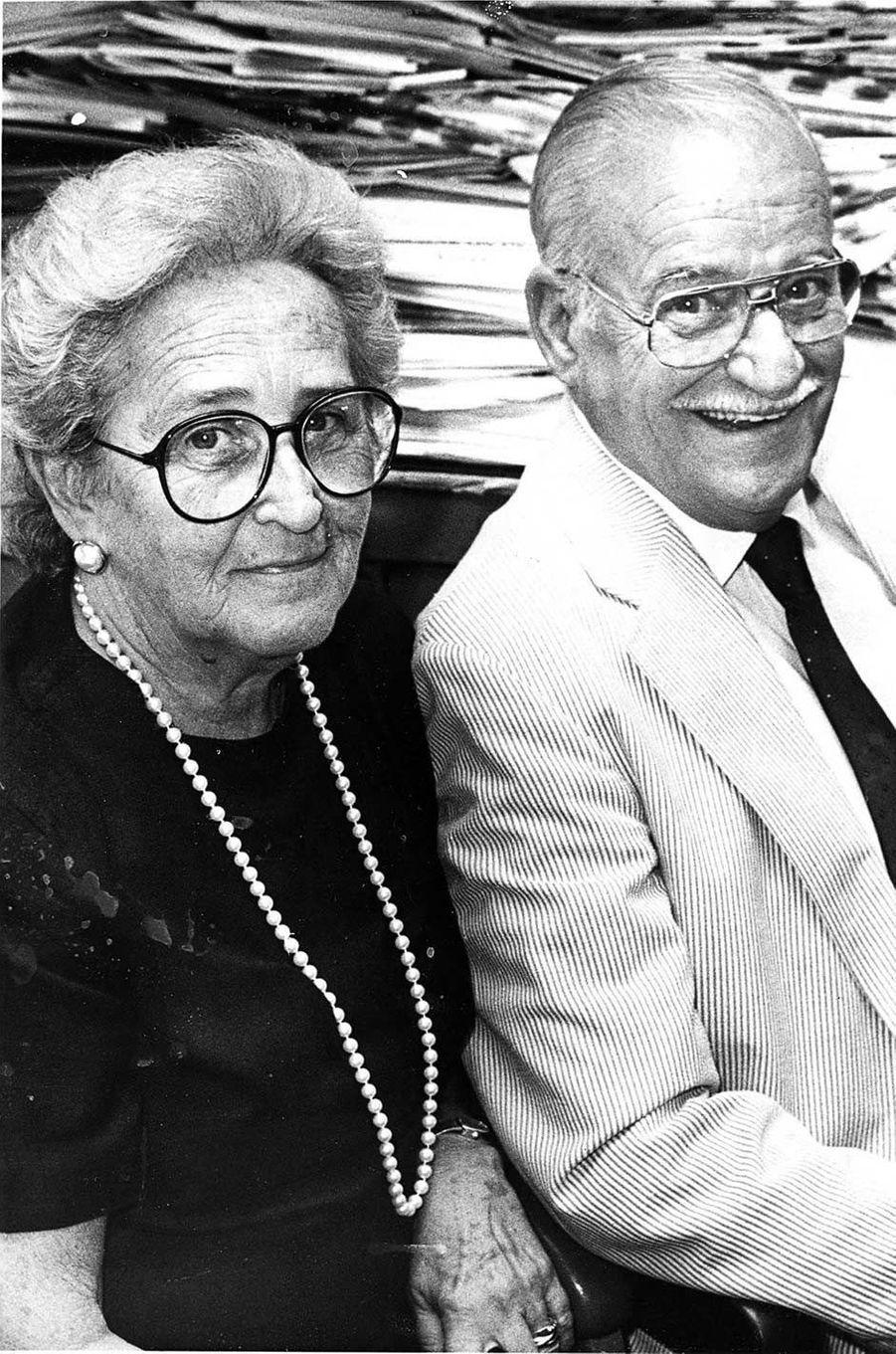 Les parents de Joe Biden, Mary Elizabeth et Joseph Sr.
