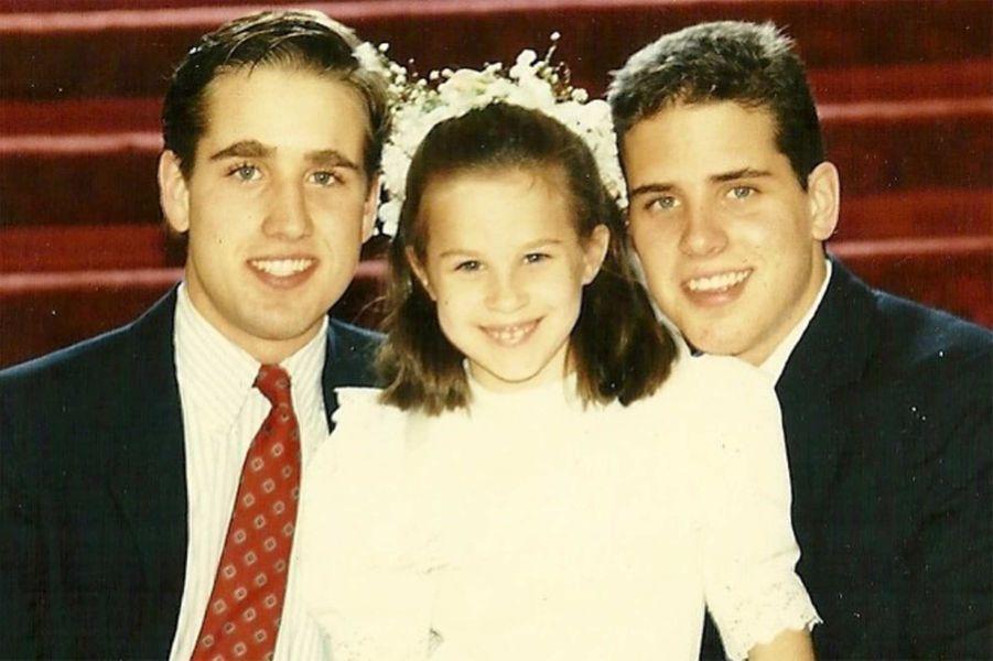 Beau, Ashley et Hunter Biden.