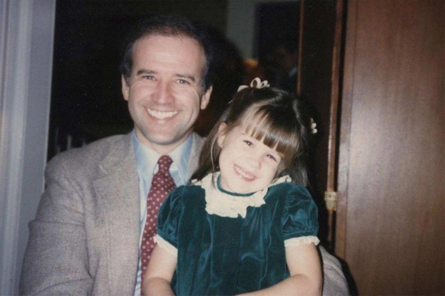 Joe Biden et sa fille Ashley.