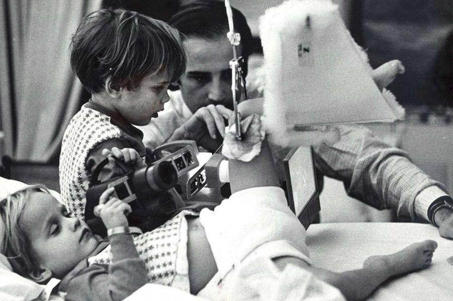 Joe Biden rendait visite tous les jours à ses fils hospitalisés.