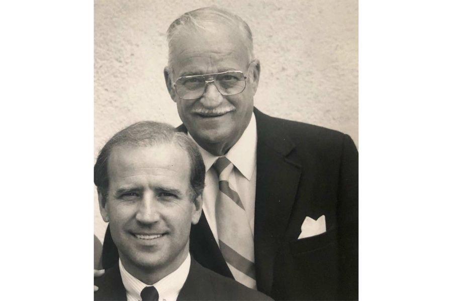 Joe Biden et son père.