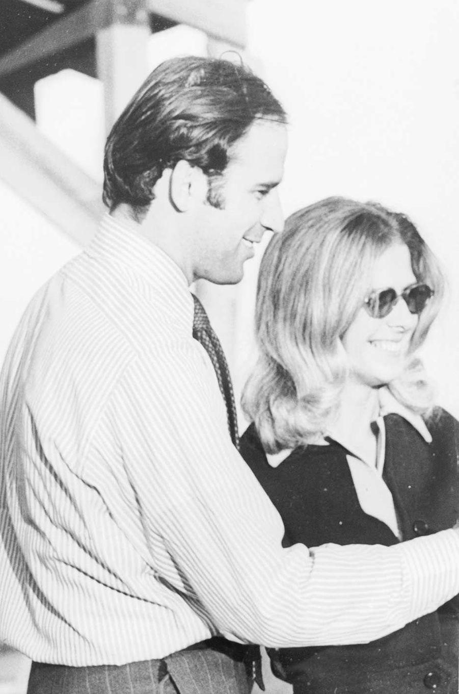 Joe Biden et sa femme Neilia.