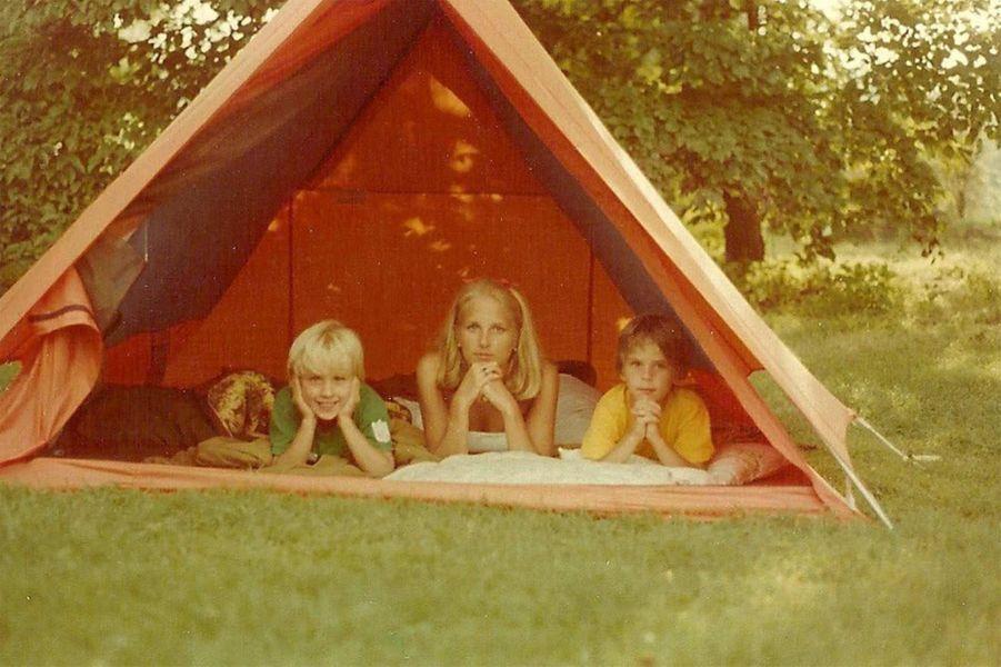 Jill Biden avec Beau et Hunter.
