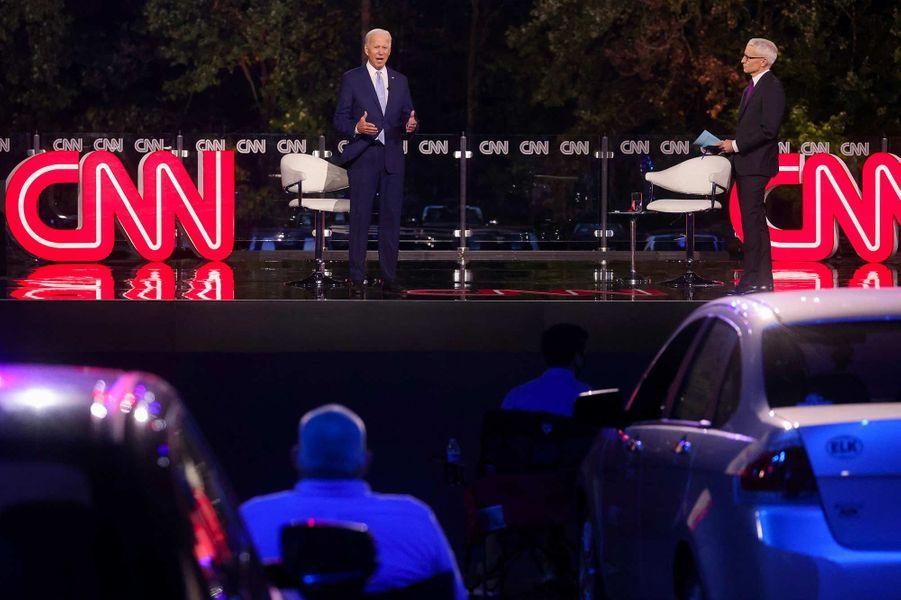 Joe Biden à Scranton, en Pennsylvanie, le 17 septembre 2020.