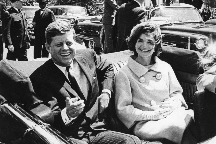 En mai 1961, à Washington, alors que John F. Kennedy s'apprête à recevoir le président tunisien Habib Bourguiba.
