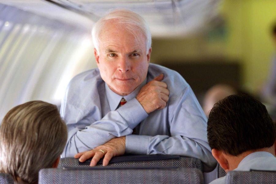 John McCain en février 2000