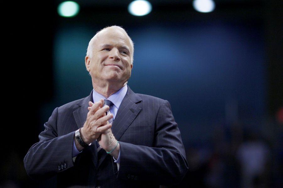 John McCain en octobre 2008