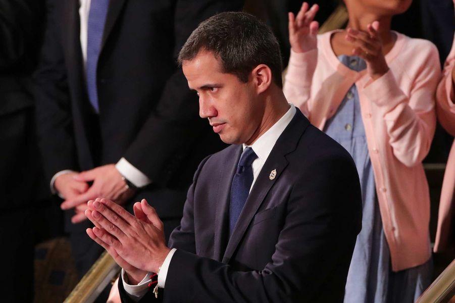 Juan Guaidó au Capitole, le 4 février 2020.
