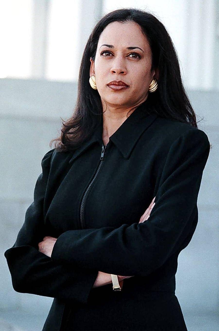 Kamala Harris alors procureure adjointe du comté d'Alameda, en mars 1997.