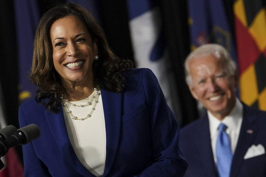 Kamala Harris et Joe Biden, en août 2020.
