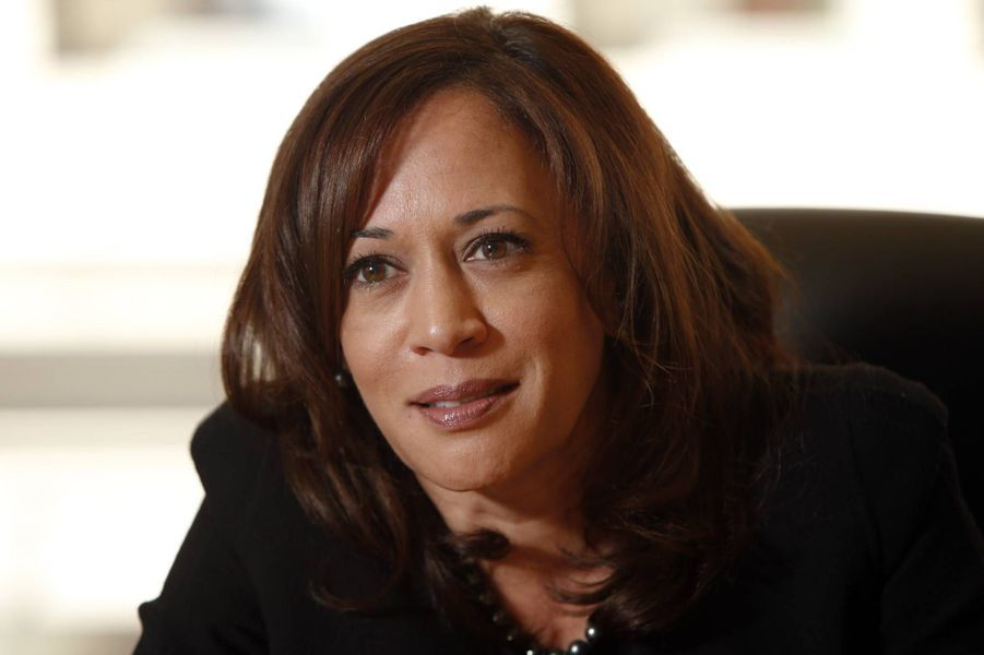 Kamala Harris alors procureure générale de Californie, en mars 2015.