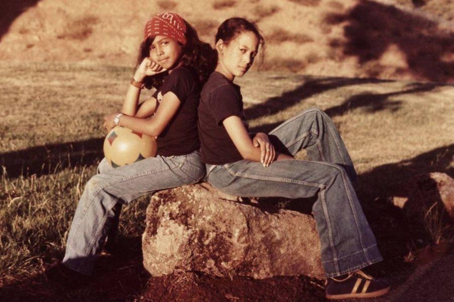 Maya et Kamala Harris.
