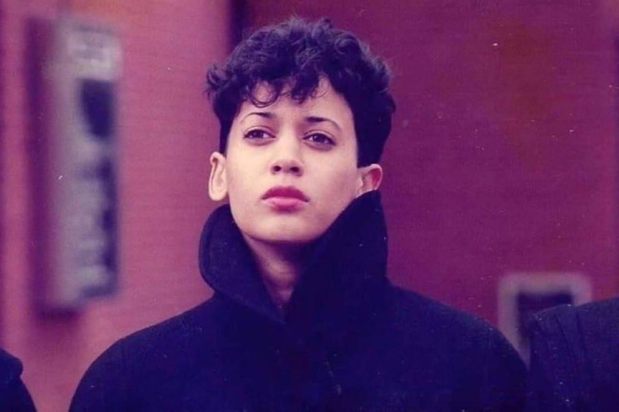 Kamala Harris jeune.