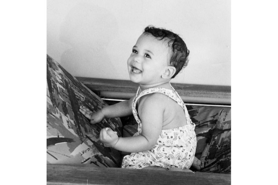 Kamala Harris bébé.