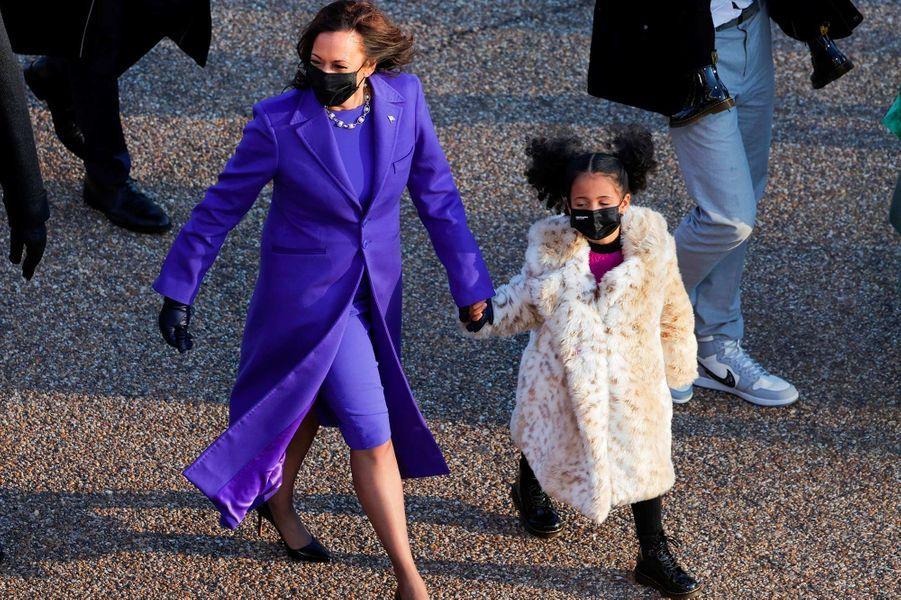 La vice-présidente Kamala Harris à Washington, le 20 janvier 2021.