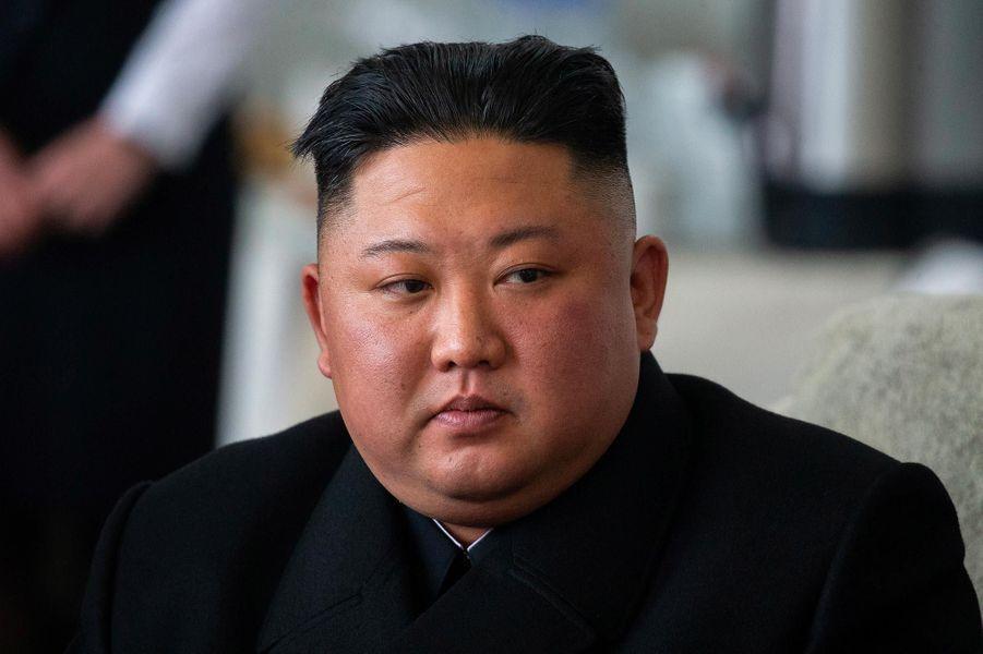 Kim Jong-un est arrivé à Vladivostok, en Russie, le 24 avril 2019.
