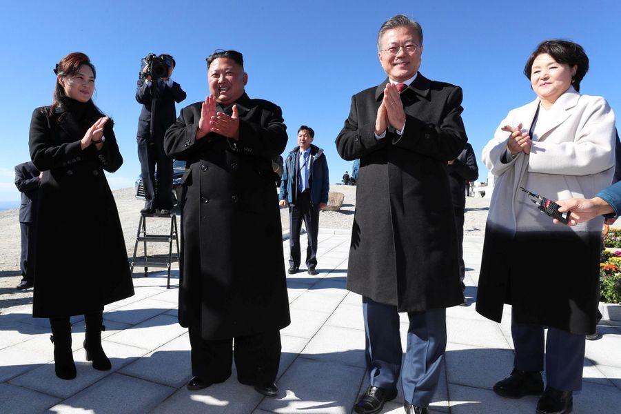 Kim Jong Un et Moon Jae-in unis dans le berceau spirituel de la Nation coréenne