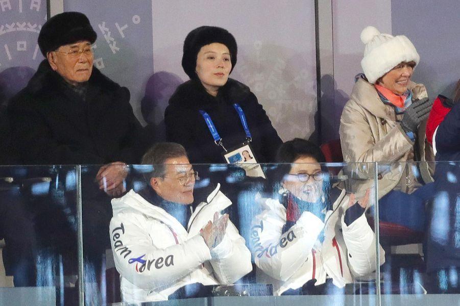 Kim Yo-Jong àPyeongchang, le 9 février 2018.