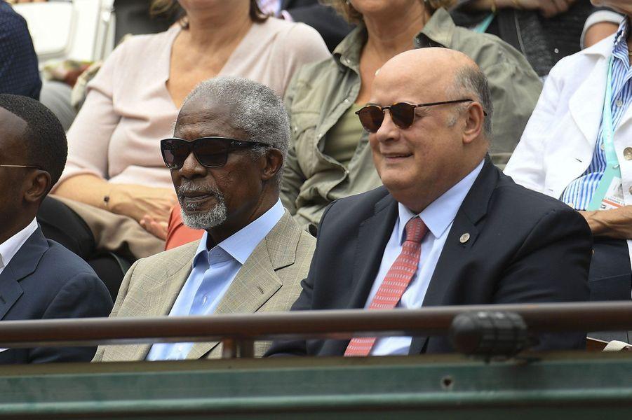 A Roland-Garros en juin 2018