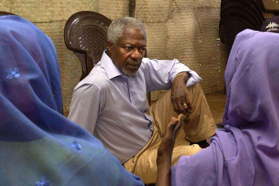 En visite au Darfour en 2005