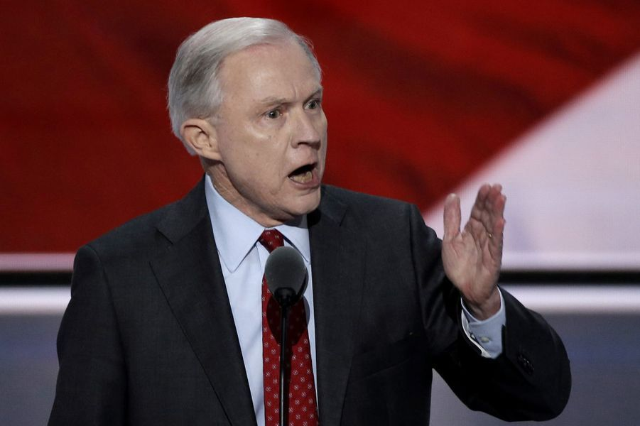 Jeff Sessions, futur «attorney general» (ministre de la Justice).