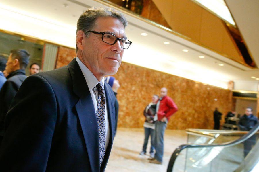 Rick Perry, futur secrétaire d'Etat à l'Energie.