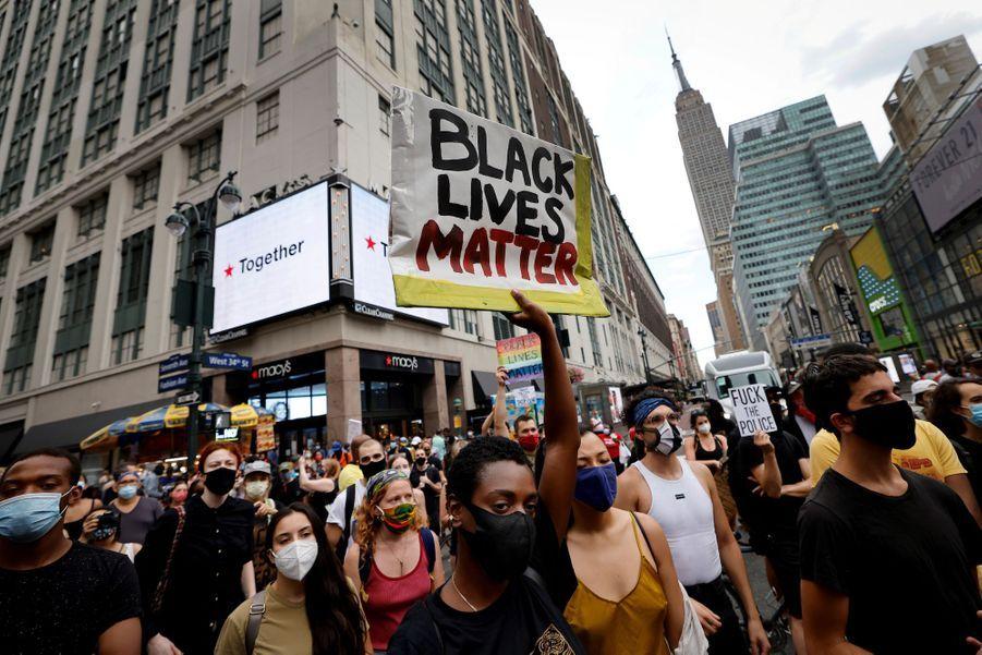 Manifestation à New York le 25 août 2020.