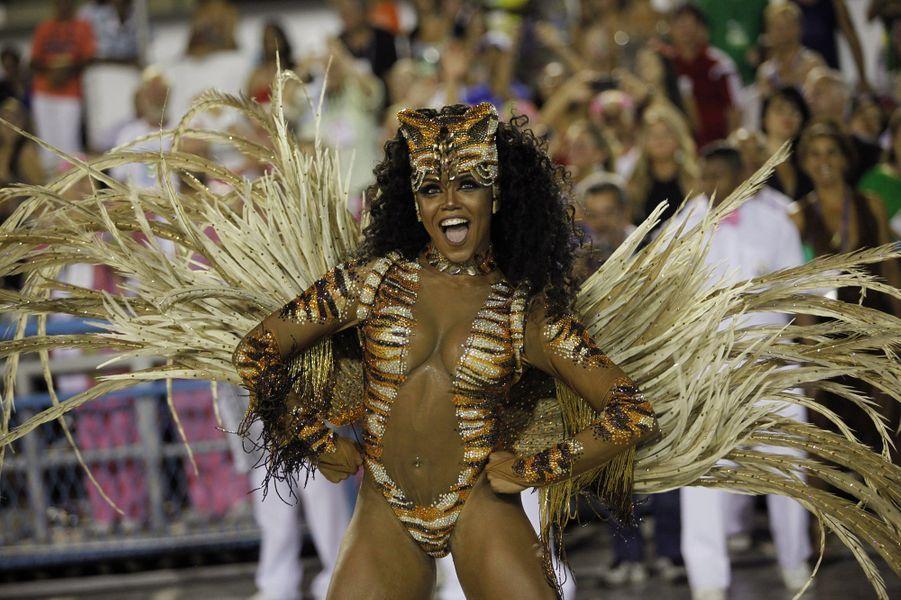 24 février 2017 : ouverture du Carnaval de Rio.