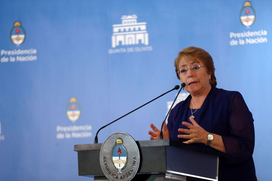 Novembre 2017 : élection présidentielle au Chili, pour succéder à Michelle Bachelet.